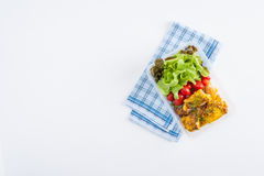 Clean food lunch box Royalty Free Stock Images