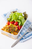 Clean food lunch box Stock Photo