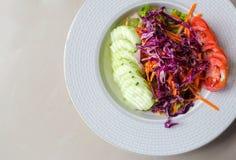 Clean food menu salad Stock Images