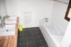 Clean and fresh bathroom stock photo