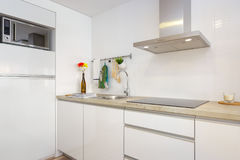 Clean fresh and bright kitchen Royalty Free Stock Photography
