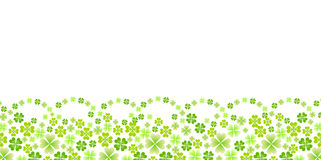 Clean fresh green background illustrations Royalty Free Stock Images
