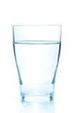 Clean glass of still water Stock Images