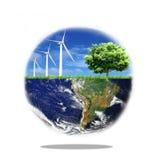 Clean Globe Stock Photo