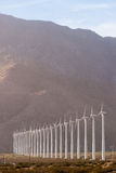 Clean Green Energy Wind Turbines Alternative Desert Power Stock Photography