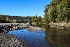 Clean Green New Zealnd. Living in New Zealand with it's clean waterway is really a blessing Stock Photography