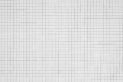 Clean grid paper background , grid notebook stock photo