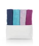 clean handdukar arkivfoto