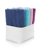 clean handdukar arkivfoton