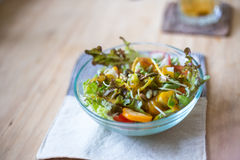 Clean healthy fruit salad Stock Photography