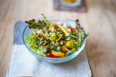 Clean healthy fruit salad Royalty Free Stock Photos