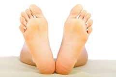 Healthy Lady Feet Stock Photos