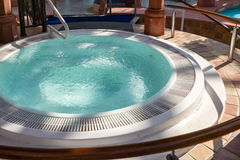 Clean Hot Tub Royalty Free Stock Photo