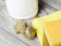 Clean House for the Holidays,. Christmas time Royalty Free Stock Photo