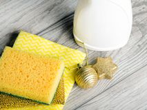 Clean House for the Holidays,. Christmas time Royalty Free Stock Photos