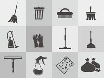 Clean Icon Vector Royalty Free Stock Photography