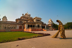 Clean India - City Palace Royalty Free Stock Photography