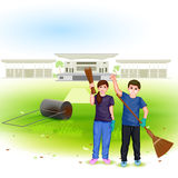 Clean India Mission Stock Image