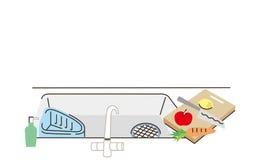 clean kitchen Στοκ φωτογραφίες με δικαίωμα ελεύθερης χρήσης