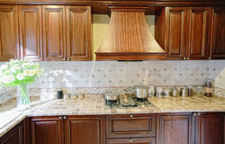 Clean kitchen. Eastphoto, tukuchina, Clean kitchen, Indoor Environment Stock Photography