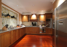 Clean kitchen. Eastphoto, tukuchina, Clean kitchen, Indoor Environment Royalty Free Stock Photography