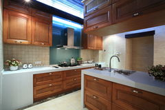 Clean kitchen. Eastphoto, tukuchina, Clean kitchen, Indoor Environment Royalty Free Stock Images