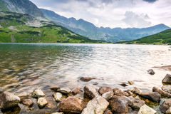 Clean lake in the mountains Stock Image