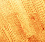 Clean laminated wooden floor Stock Photos
