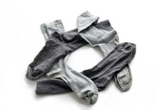 Clean laundered men's socks Royalty Free Stock Photos