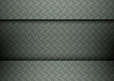 Clean metal template background Stock Photo