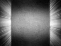Clean metal texture 3d presentation Royalty Free Stock Image