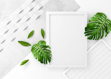 Clean And Minimal Advertising Space Stock Image