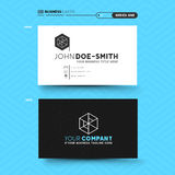 Clean and minimal business card design Royalty Free Stock Photography