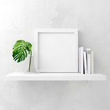 Clean and Minimal Frame Stock Photo