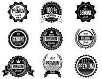 Clean and Modern Badges with a different style Stock Photo