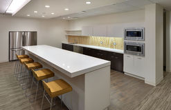 Clean Modern community lunch room Stock Images
