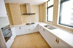 Clean modern kitchen Stock Photos