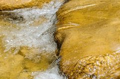 Clean mountain river Royalty Free Stock Photo