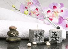 Clean and natura spa Royalty Free Stock Photo