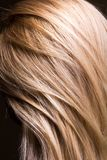 Clean natural healthy hair close-up Royalty Free Stock Photography