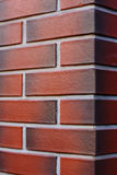 Clean and new Brick wall textured red background Royalty Free Stock Photography
