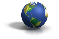 Clean and nice Globe Stock Image