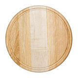 Clean oak cutting board Royalty Free Stock Images