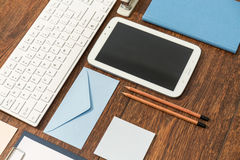 Clean office desk Royalty Free Stock Photo