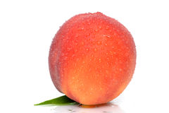 Clean Peach Royalty Free Stock Photo