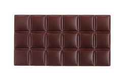 Clean photo of dark chocolate bar Royalty Free Stock Photo
