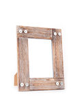 Clean photo frame. In white background Royalty Free Stock Photography