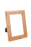 Clean photo frame. In white background Royalty Free Stock Photos