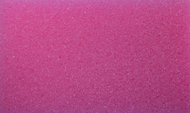 The clean Pink sponge foam texture Stock Photo