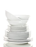 Clean plates Royalty Free Stock Image